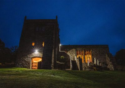 Chapel at Night - Barnaby Aldrick Photography