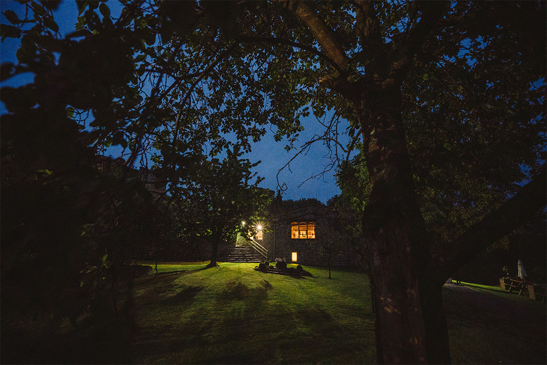 The Priests House at Night - Barnaby Aldrick Photography